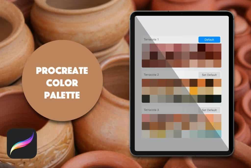 Procreate Palette - Terracota