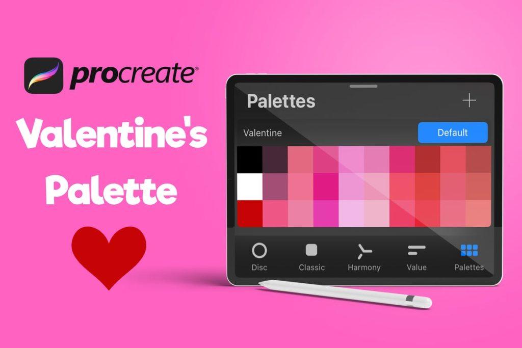 Procreate Palette - Valentine's