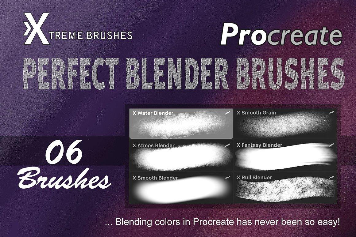 Procreate Perfect Blenders