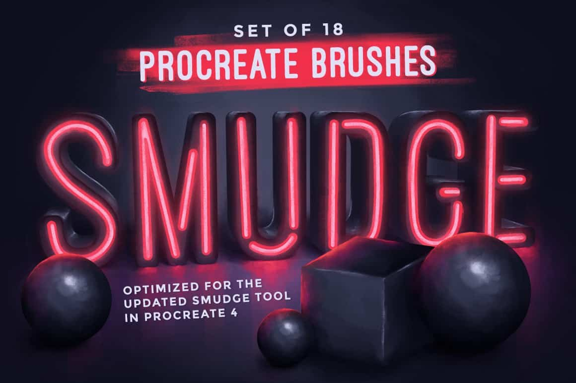 Procreate Smudge Brushes