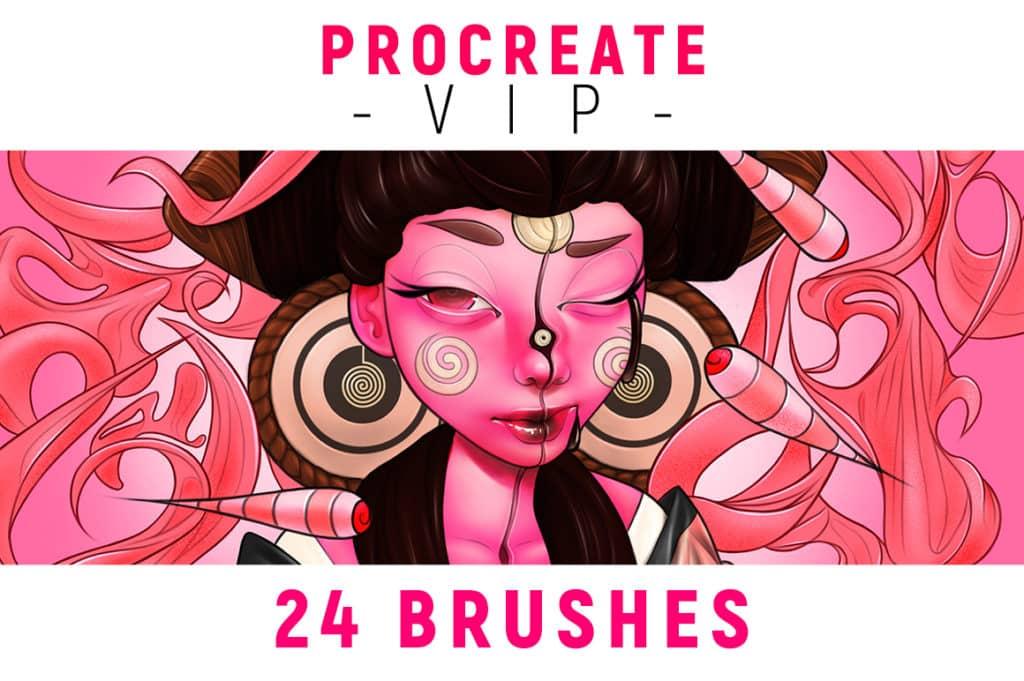 Procreate VIP Brushes