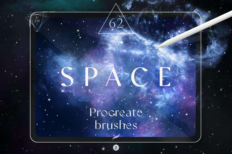 Space Procreate Brushes V 2.0