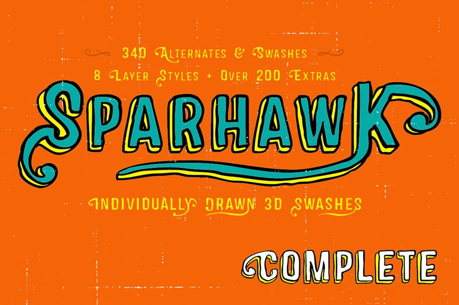 Sparhawk Complete Family