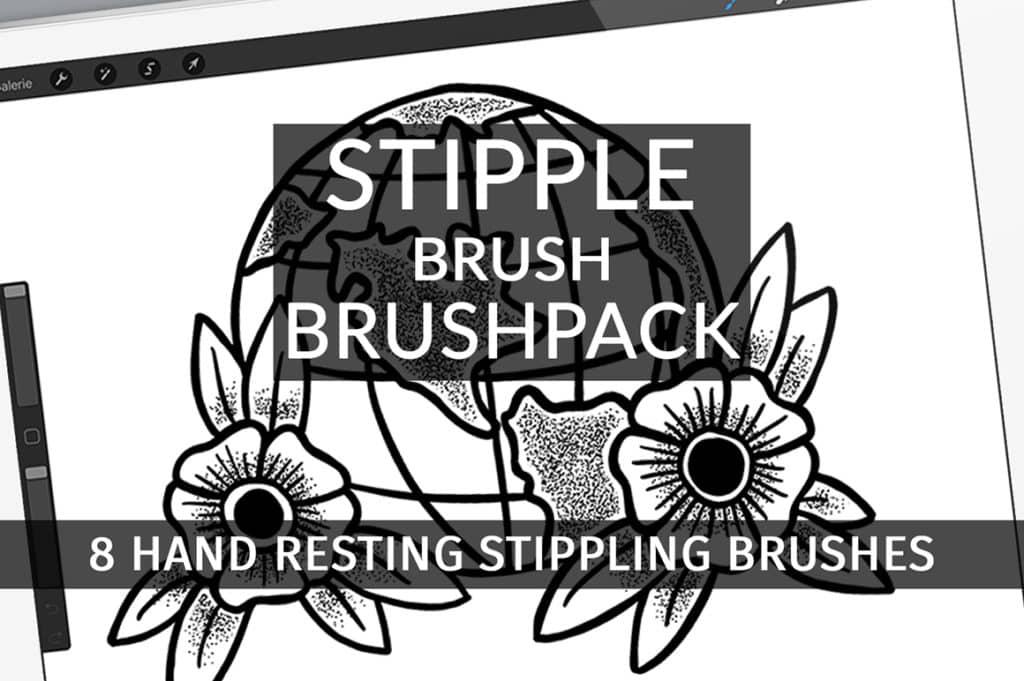 Stipple Brush Brushpack