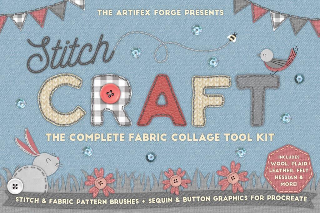 Stitch Craft – Procreate Brushes