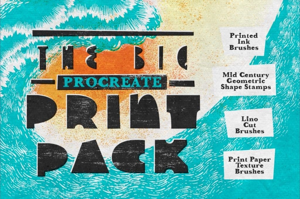The Big Procreate Print Pack