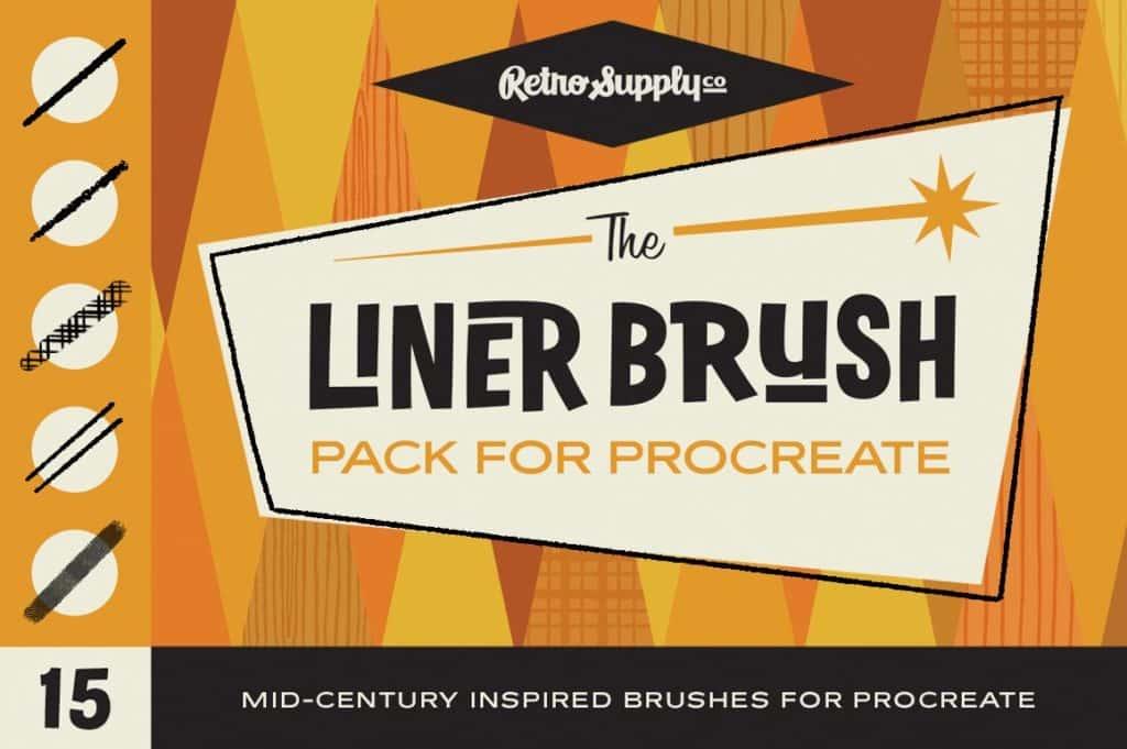 The Liner Brush Pack for Procreate