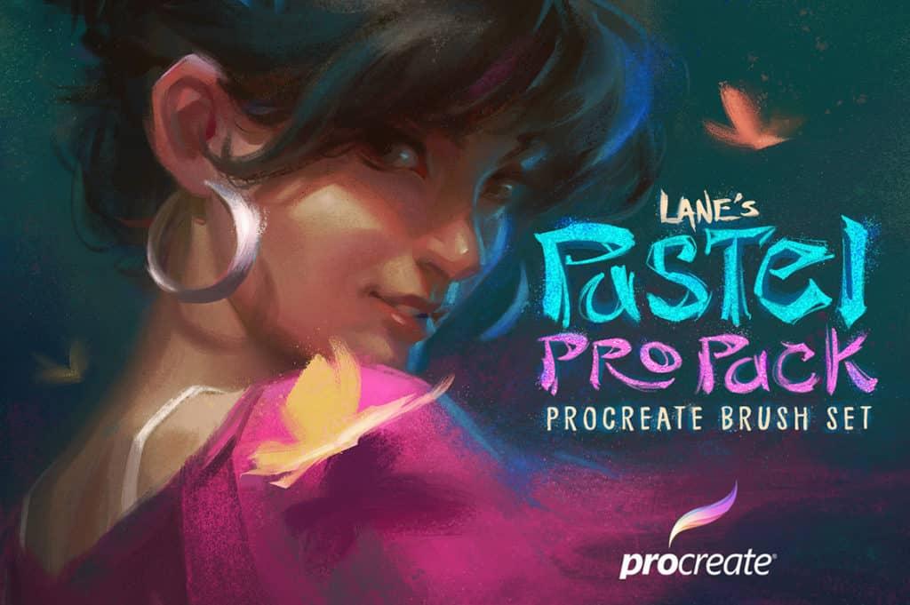 The Pastel Pro Pack- Procreate Brush Set