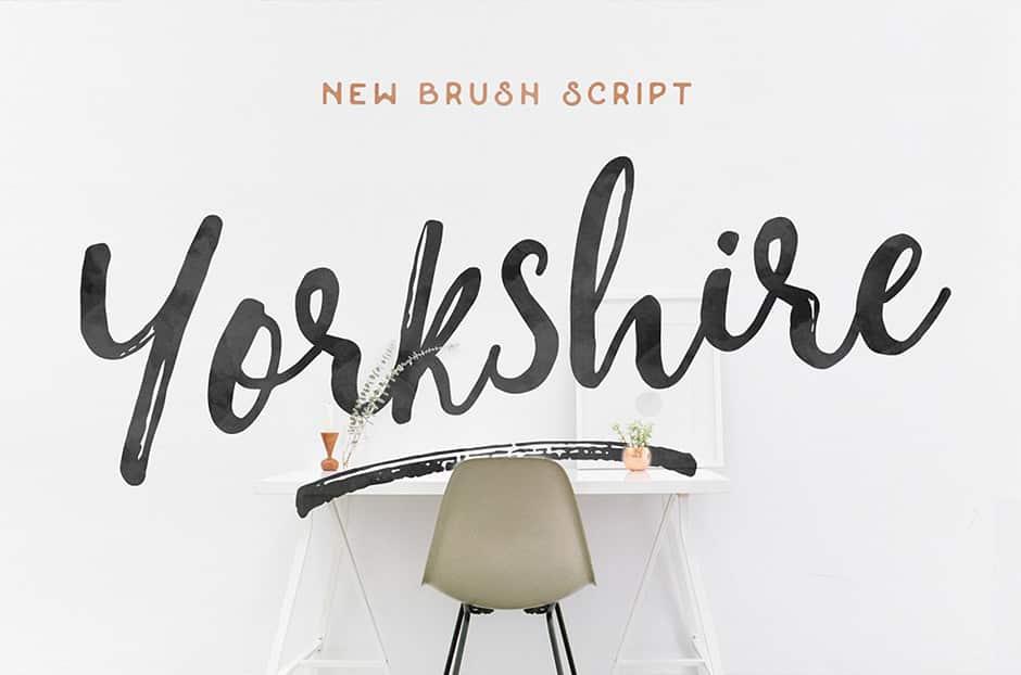 Yorkshire Brush Script