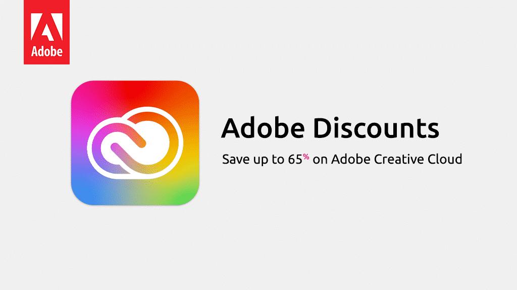 Adobe Creative Cloud Discounts