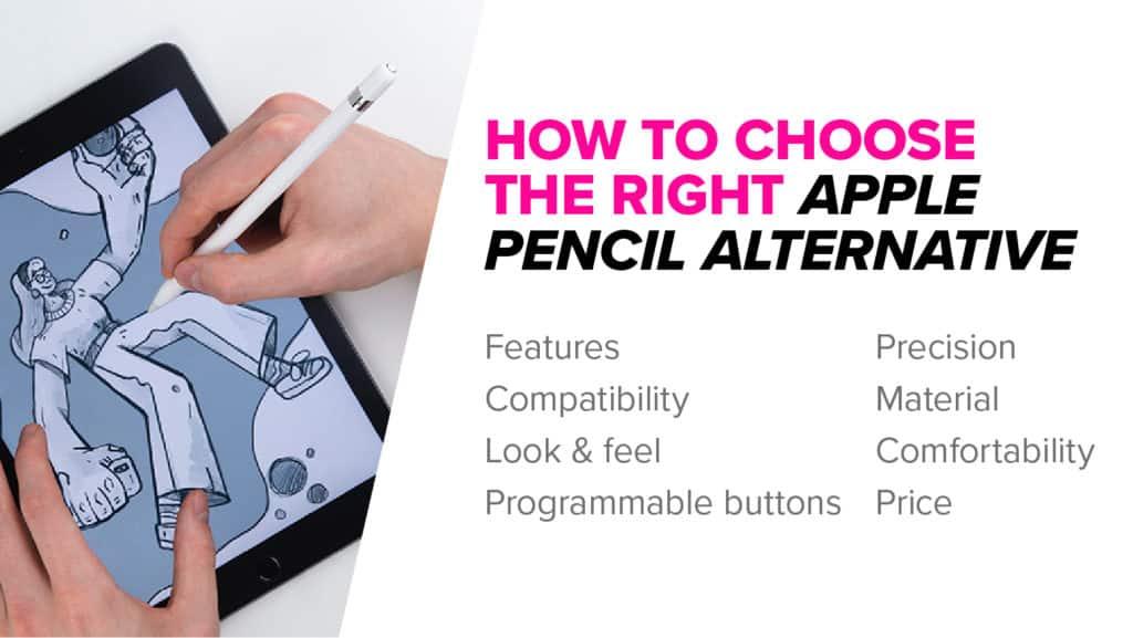 How to choose apple pencil alternative