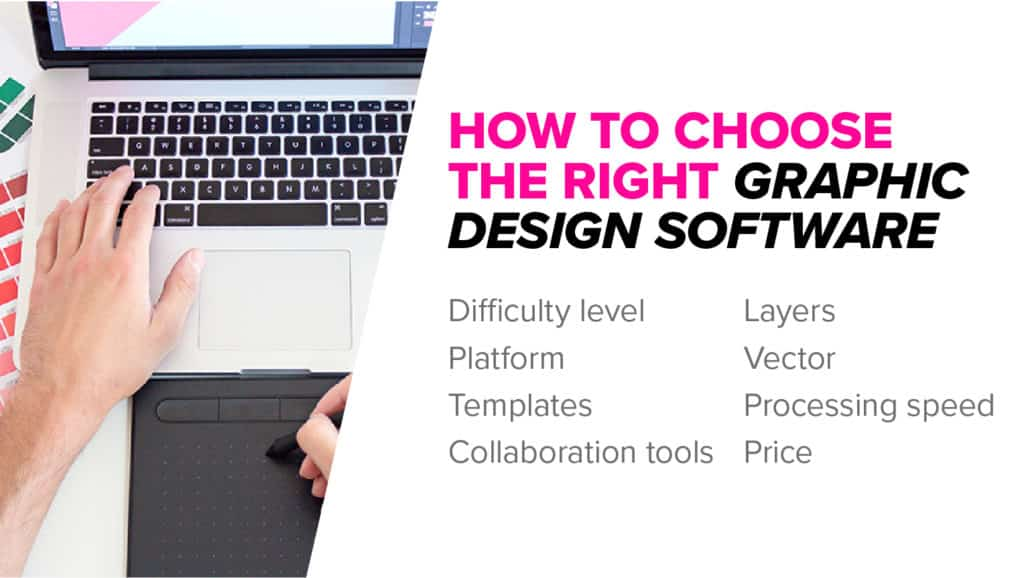 Buying guide for graphic design software