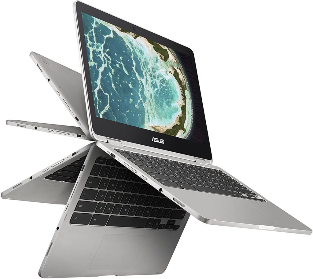 Mejores Chromebooks para Diseñadores - Asus Chromebook Flip C302