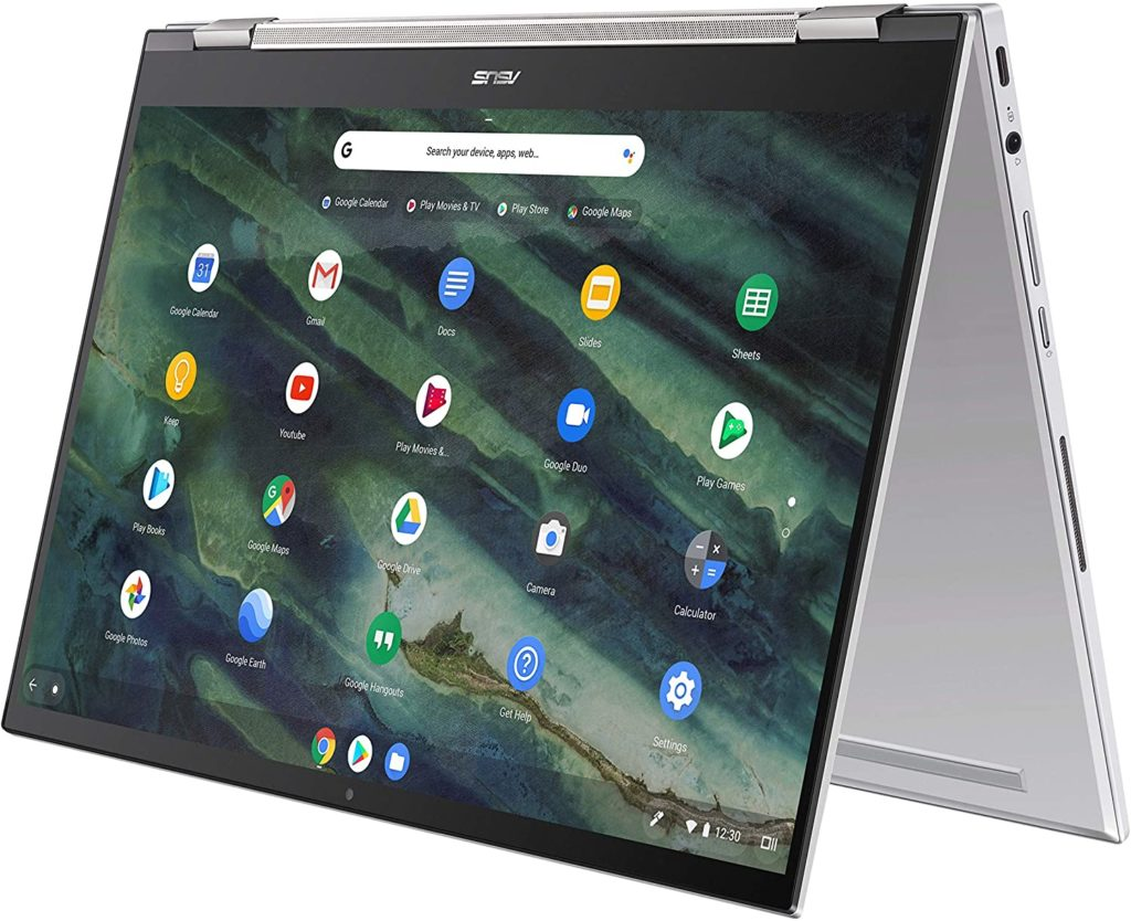 Mejores Chromebooks para Diseñadores - Asus Chromebook Flip C436F