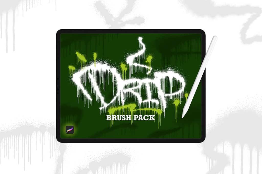 Drip Brush Pack