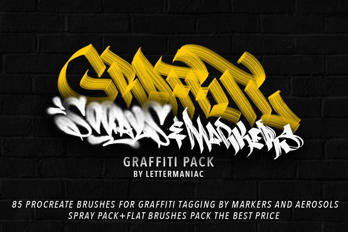 Graffiti BrushPack For Procreate