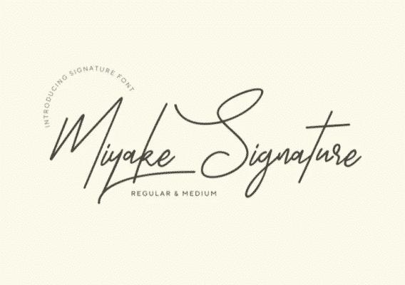 Miyake Signature