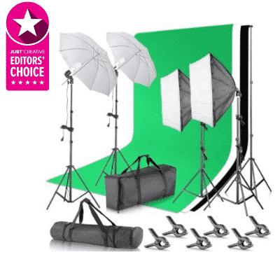 Neewer Photography Studio Lighting Kit - The best lighting studio kit for the digital creative