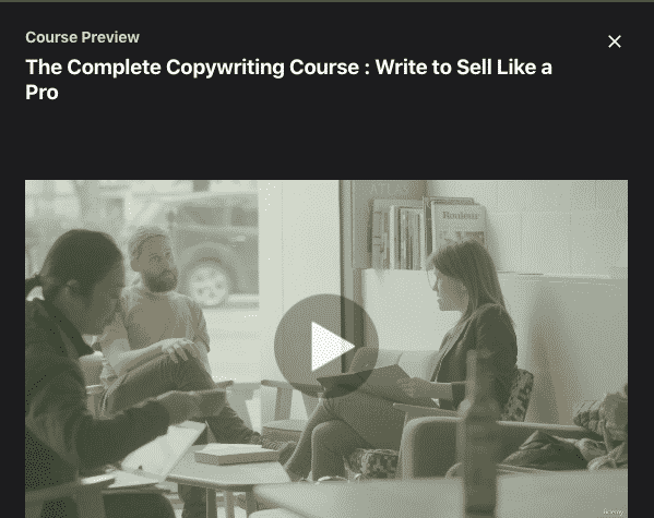 The Complete Copywriting Course : Write to Sell Like a Pro