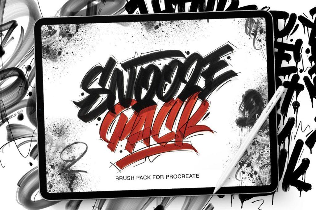 SnoozePack - Brushpack for procreate