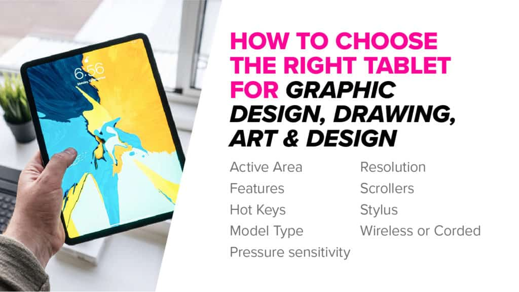 How to choose a tablet for design, art, drawing