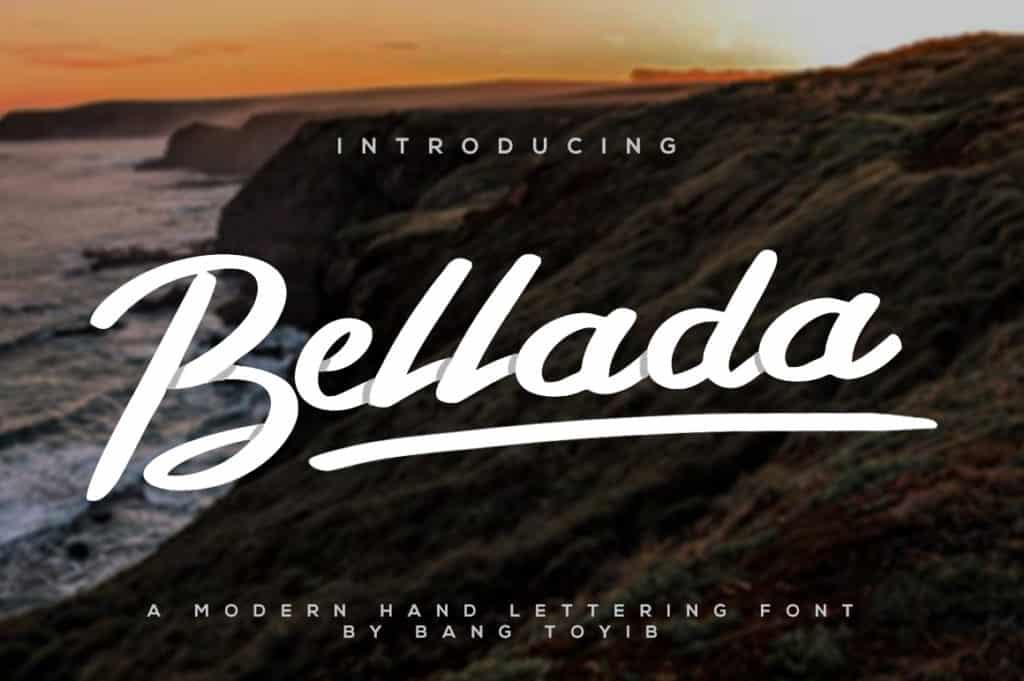 Bellada Script Font