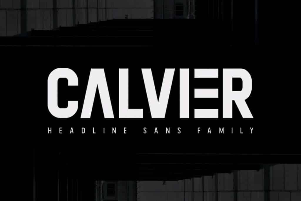 Calvier-Headline-Sans-Family
