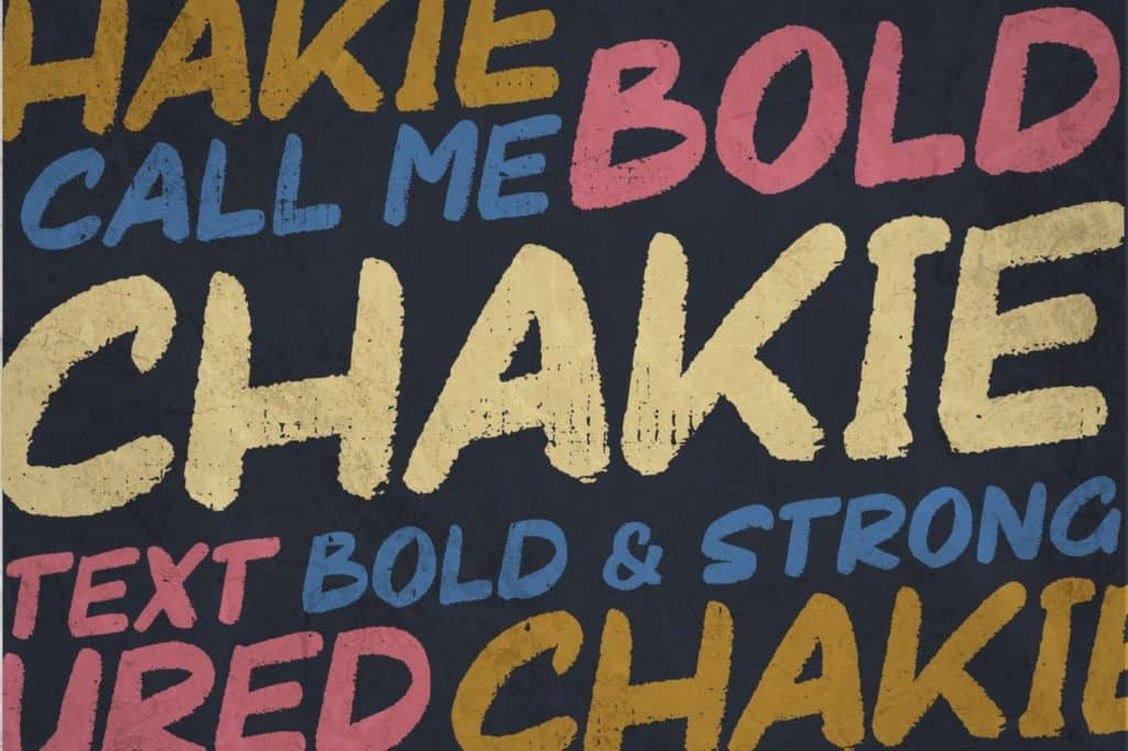 Chakie-Headline-Font