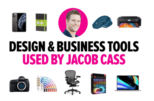 Design and Business Tools used By Jacob Cass