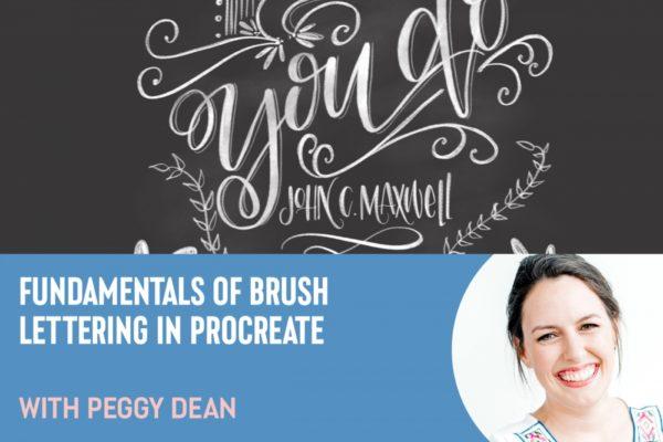 Fundamentals of Brush Lettering in Procreate