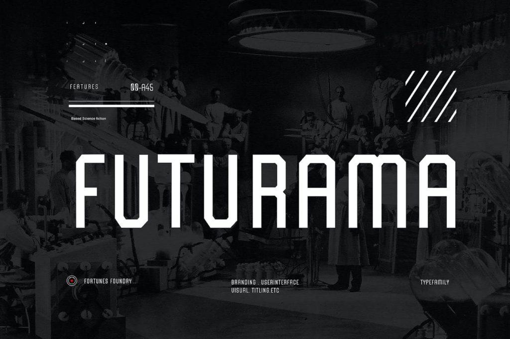 Futurama-Modern-Titling