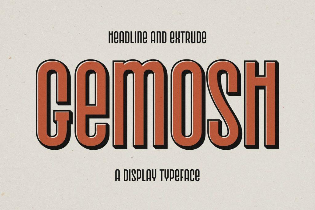 Gemosh-Headline-and-Extrude