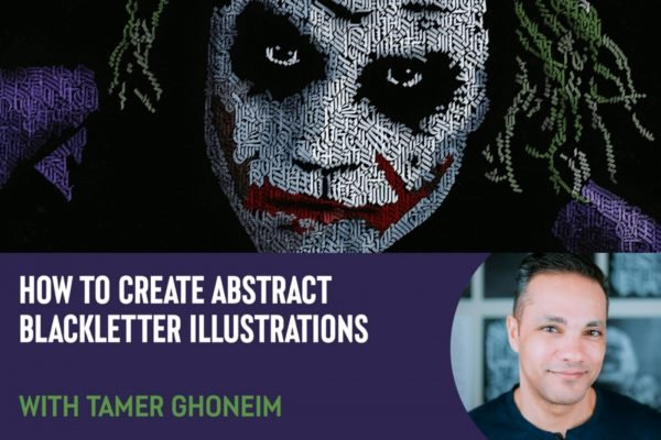 How to Create Abstract Blackletter Illustrations