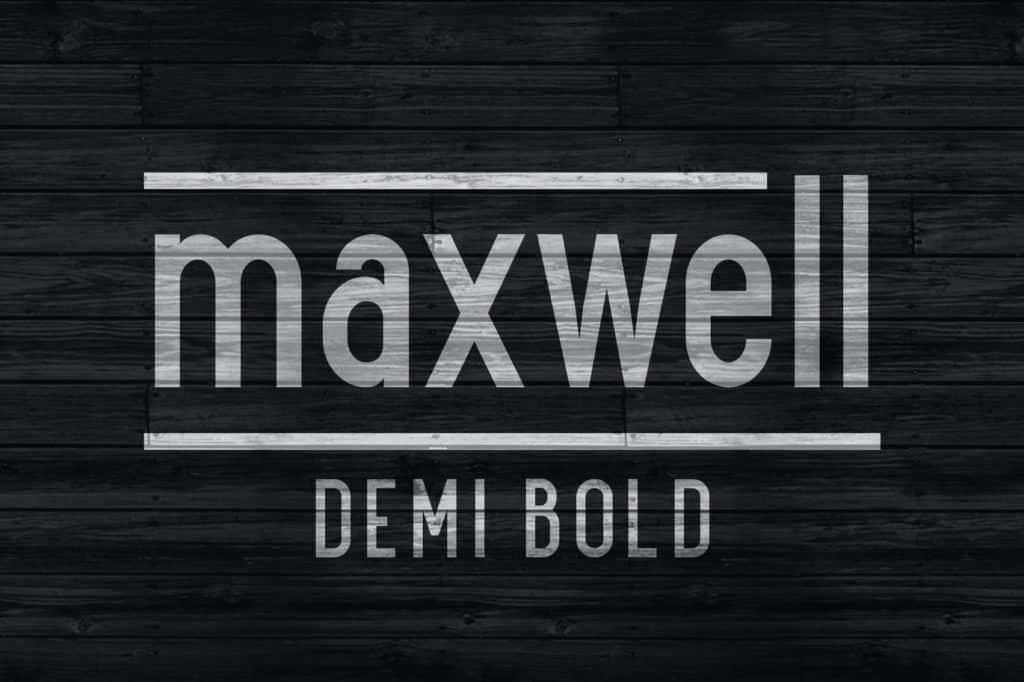 Maxwell Sans Demi Bold