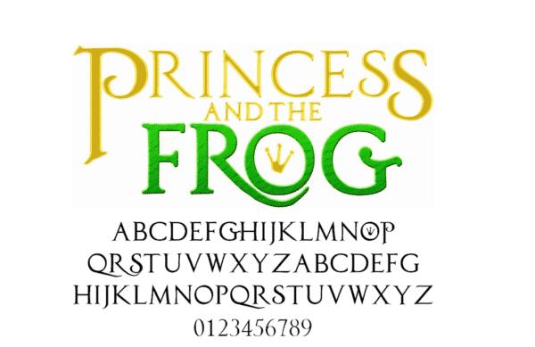 Princess and the Frog Font