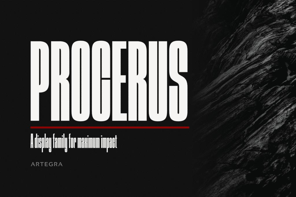Procerus Font Family