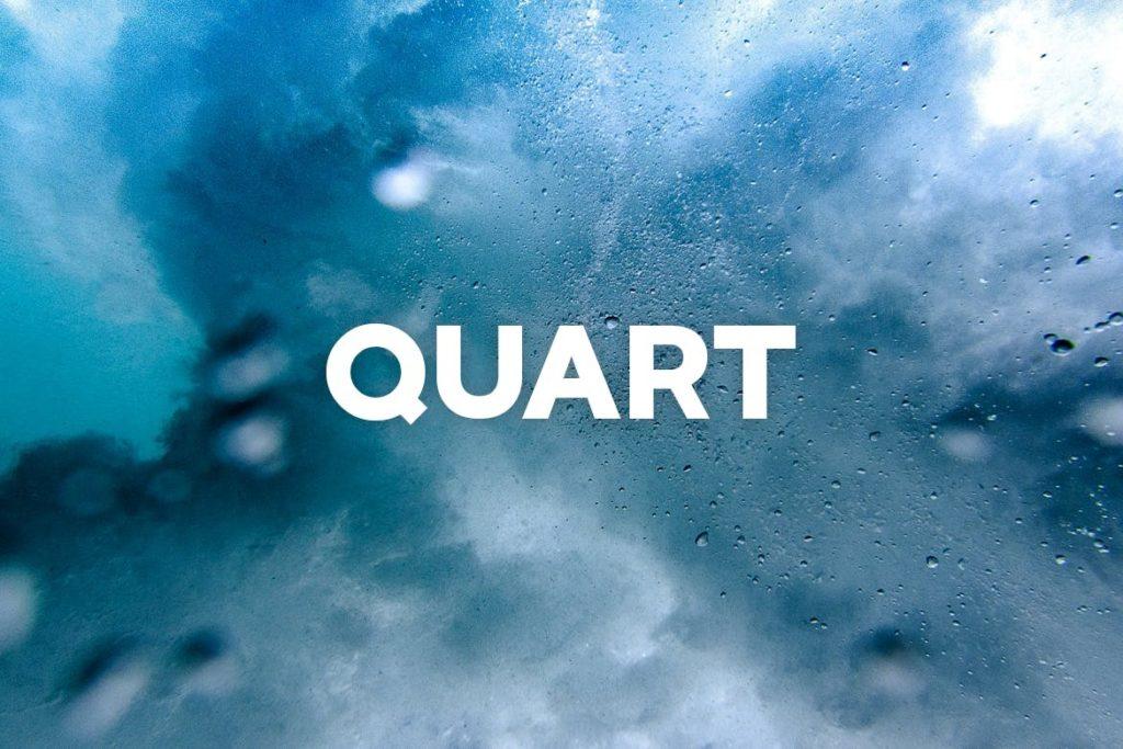 QUART - Headline Typeface