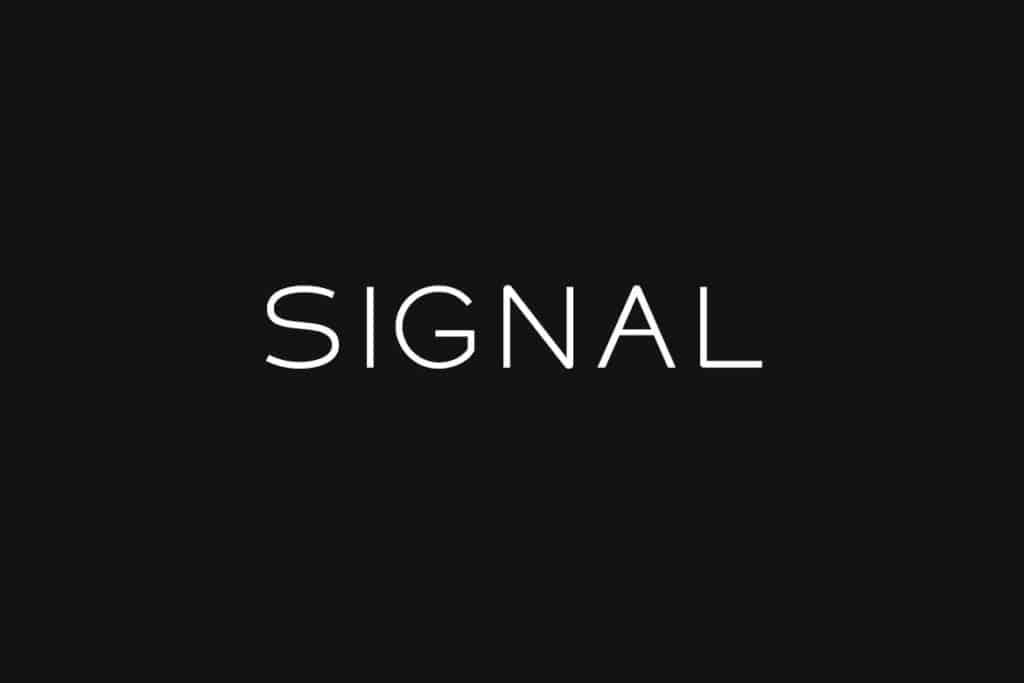 SIGNAL - Headline Typeface