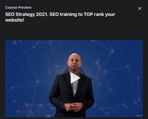 SEO Strategy 2021. SEO training to TOP rank your website!