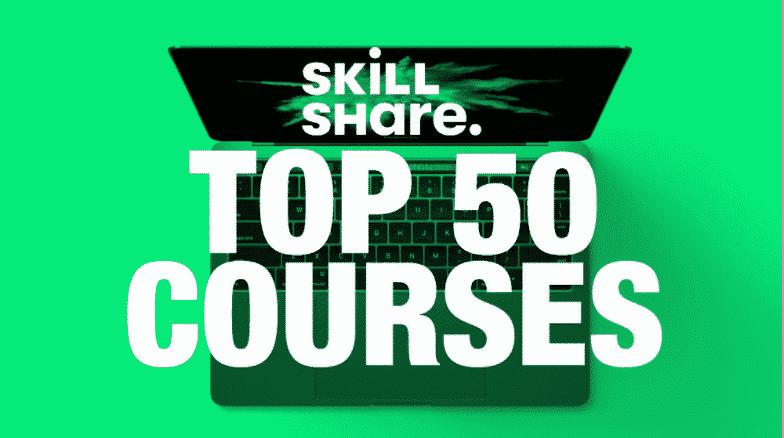 Top Skillshare Courses