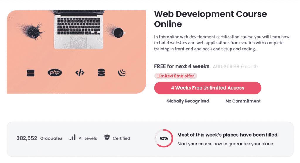 Shaw Academy Web Design Course