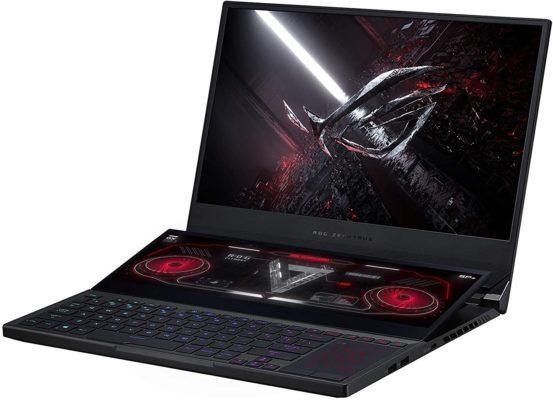 Laptops más rápidas y potentes para diseñadores gráficos y creativos - ASUS ROG Zephyrus Duo SE GX551