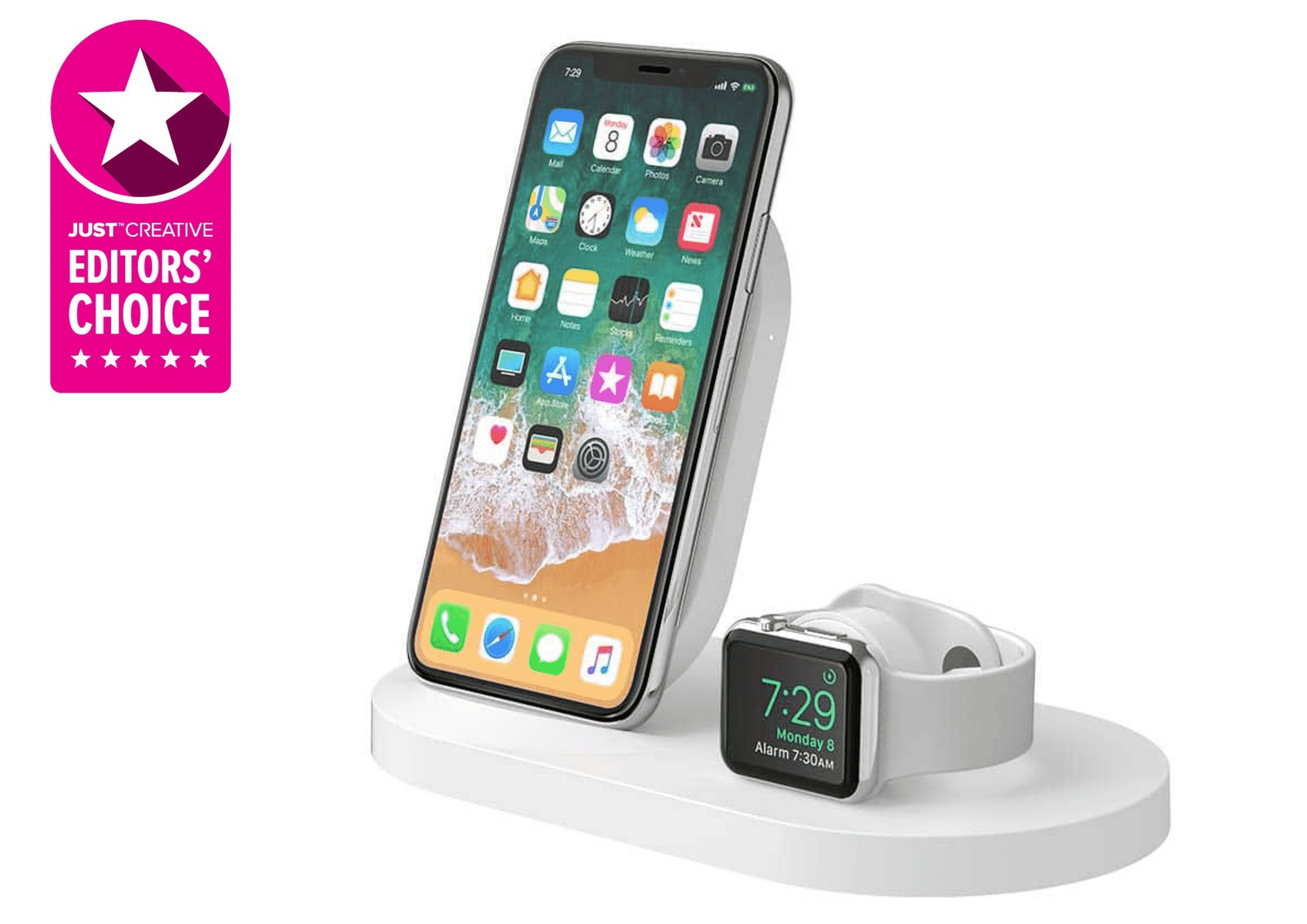 Belkin Wireless Charging Dock- Best dock for iPhone and Apple watch owners