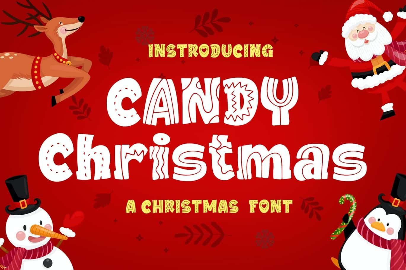 Christmas Fonts for Designers