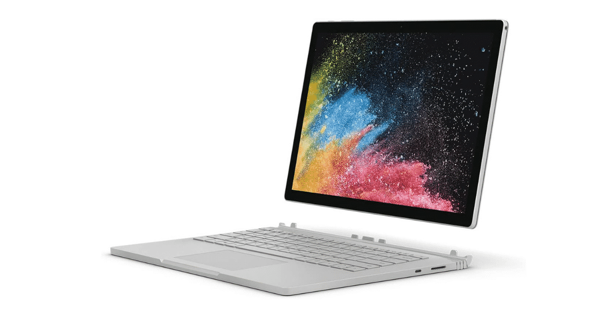 The Best Laptops for Digital Art and Artists - Microsoft Surface Book 2