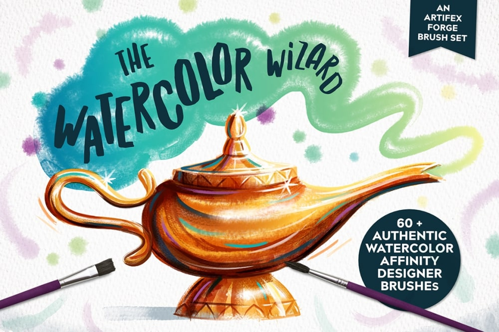 The Watercolor Wizard – Affinity Brushes
