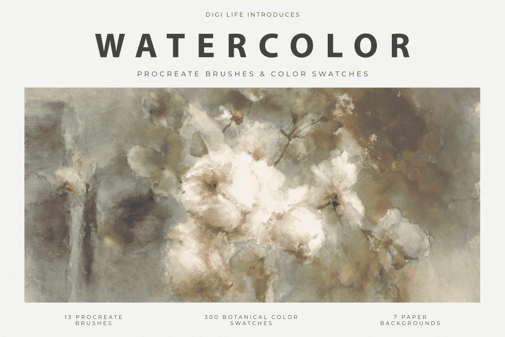 Watercolor Procreate Brushes