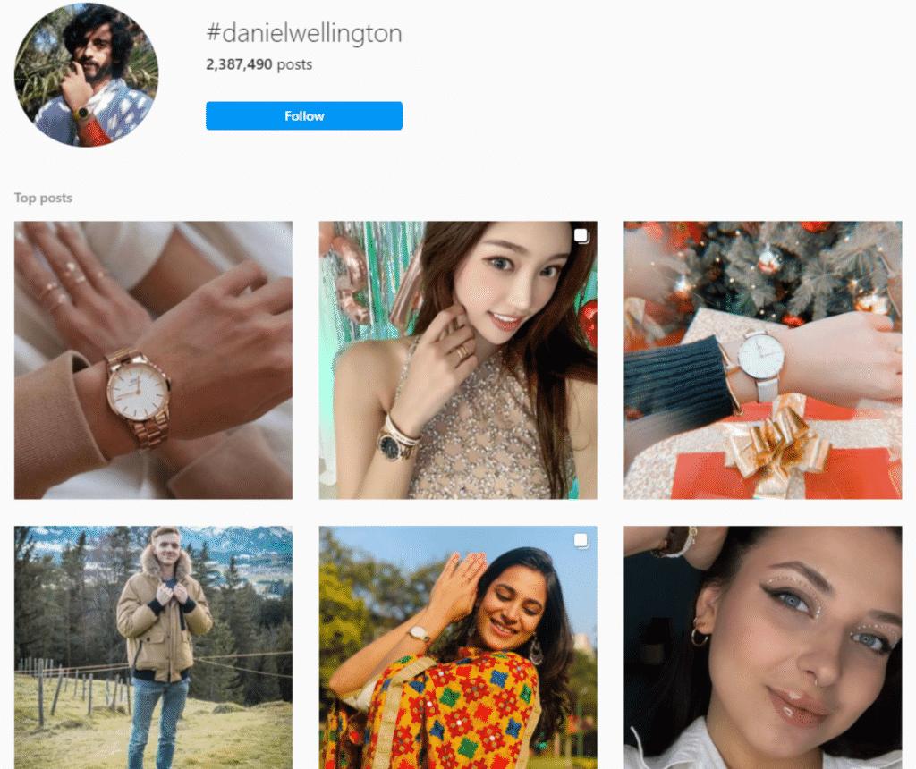 Leverage hashtags - social media optimization