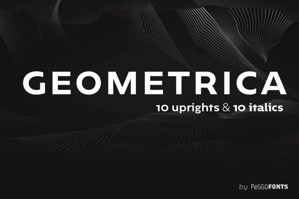 Best Geometric Fonts